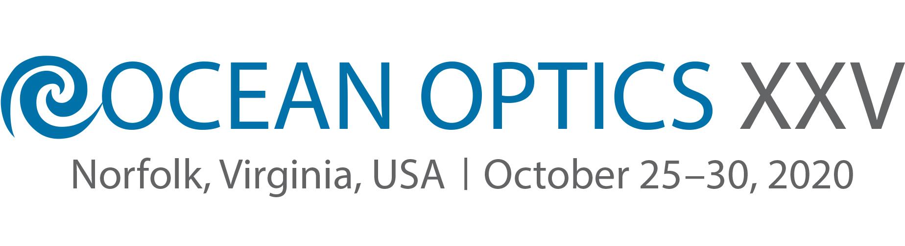 Ocean Optics Conference 2020